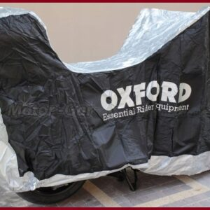 OXFORD POKROWIEC MOTOCYKL z KUFREM AQUATEX rozm. M