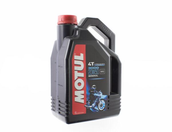 Olej silnikowy 4-suw Motul 3000 20W50 4L Mineralny