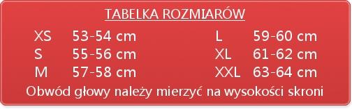 Kask CABERG EGO INTEGRALNY WHITE RED r XL BLENDA