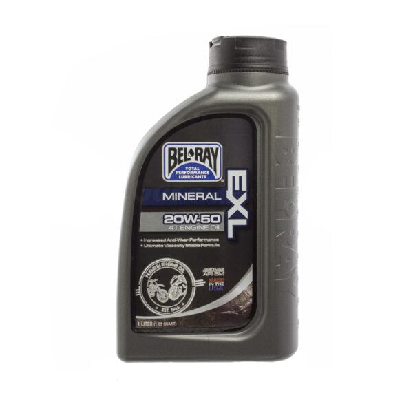 Olej silnikowy mineralny 20W 4T 1L BEL-RAY EXL MA2
