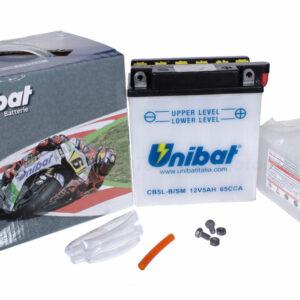 Akumulator motocyklowy Unibat CB5L-B/SM MZ SIMSON