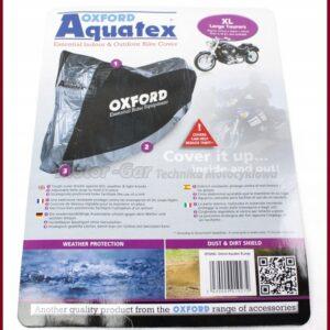 OXFORD POKROWIEC MOTOCYKL WODOODPORNY AQUATEX XL