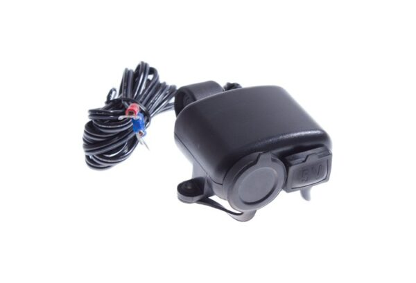 GNIAZDO ZAPALNICZKI 12V USB MOTOCYKL SKUTER ATV