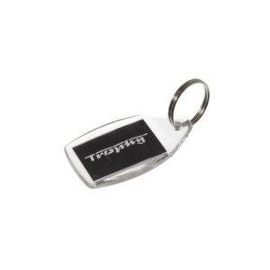 Brelok zawieszka do kluczy logo MZ TROPHY
