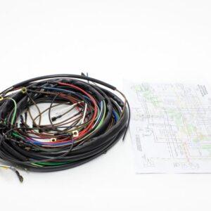 Instalacja elektryczna MZ ETZ 150 250 251 SCHEMAT