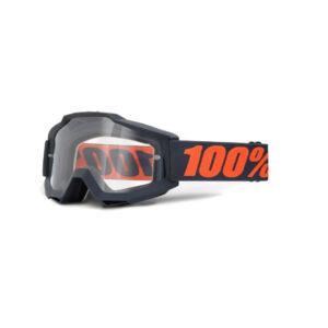 GOGLE MOTOCYKLOWE ACCURI 100% CROSS ENDURO ATV