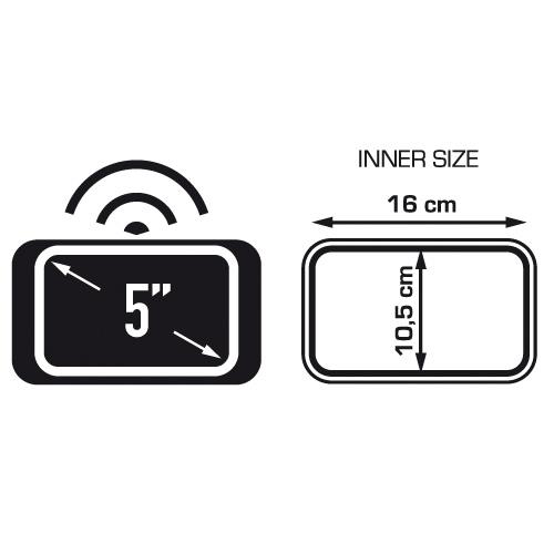 ETUI UCHWYT GPS TELEFON KAPPA MOTOCYKLOWY 5″