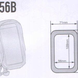 ETUI UCHWYT GPS SMARTPHONE TELEFON GIVI S956B