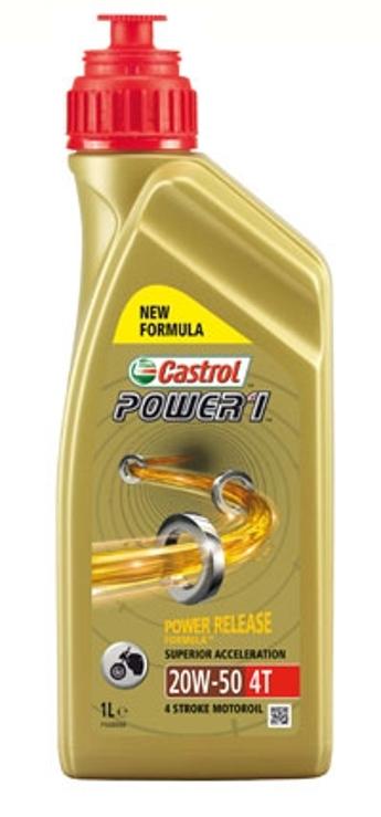 OLEJ SILNIKOWY CASTROL POWER 1 4T 20W50