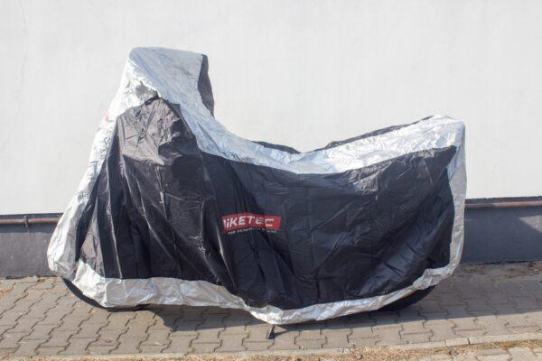 POKROWIEC WODOODPORNY NA MOTOCYKL BIKETEC rozm XL