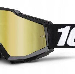 GOGLE MOTOCYKLOWE ACCURI TORNADO 100% CROSS ATV