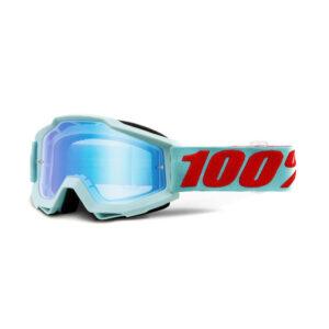 GOGLE MOTOCYKLOWE ACCURI MALDIVES 100% CROSS ATV