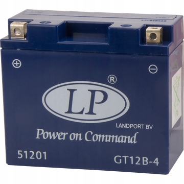 AKUMULATOR LANDPORT GT12B-4 ŻELOWY 12V 10AH