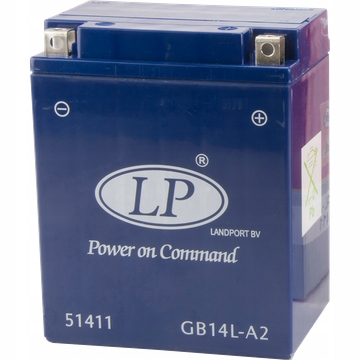 AKUMULATOR LANDPORT GB14L-A2 ŻELOWY 12V 14AH