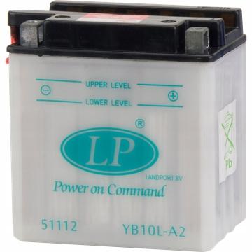 AKUMULATOR LANDPORT YB10L-A2 MOTOCYKLOWY 12V 11AH
