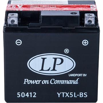 AKUMULATOR LANDPORT YTX5L-BS MOTOCYKLOWY 12V 4,5AH