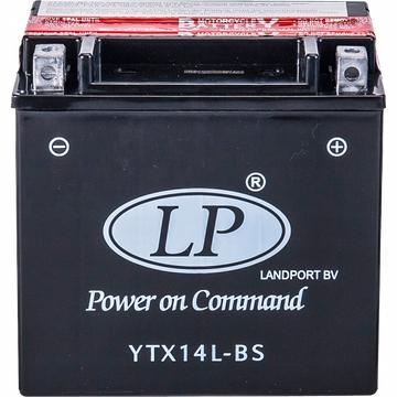 AKUMULATOR LANDPORT YTX14L-BS MOTOCYKLOWY 12V 12AH
