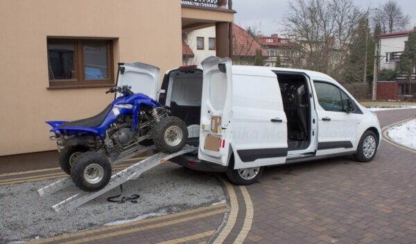 Najazd rampa do motocykli i quadów 340kg ALUMINIUM