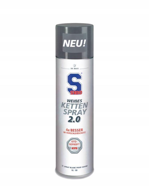 SMAR DO ŁAŃCUCHA WEISSES KETTEN SPRAY S100 400 ml