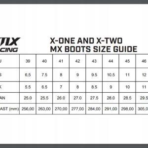 BUTY MOTOCYKLOWE CROSS ENDURO QUAD IMX X-ONE 40