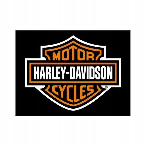 MAGNES HARLEY DAVIDSON LOGO PREZENT MOTOCYKLISTY
