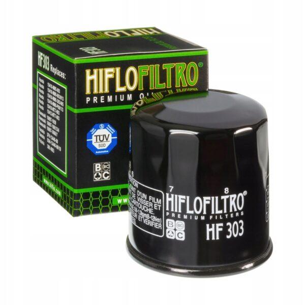 FILTR OLEJU HIFLO HF303 HONDA KAWASAKI YAMAHA