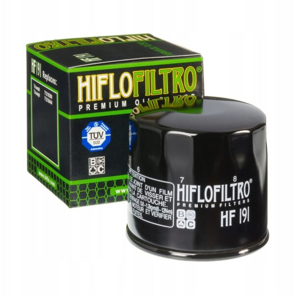 FILTR OLEJU HIFLO HF191 PEUGEOT TRIUMPH