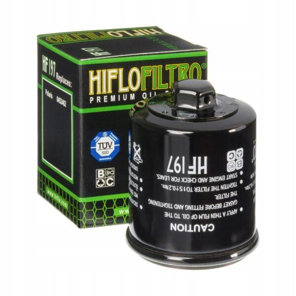 FILTR OLEJU HIFLO HF197 POLARIS PGO HYOSUNG