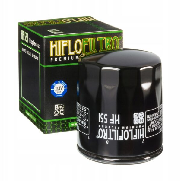 FILTR OLEJU HIFLO HF551 MOTO GUZZI