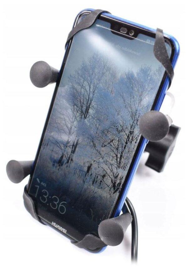 UCHWYT TELEFONU GPS NA MOTOCYKL USB X-GRIP TYP RAM