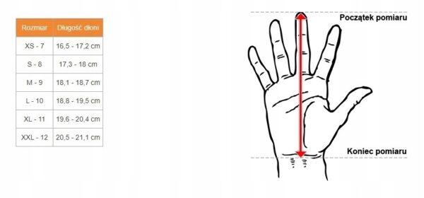 Rękawice SHOT Race Cross 2020 Red Neon roz. XXL
