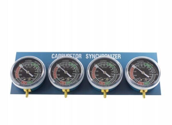 Zegar wakuometr synchronizacji gaźników instruk PL
