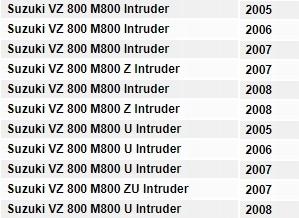 Filtr POWIETRZA Hiflo HFA3804 VZ M 800 INTRUDER