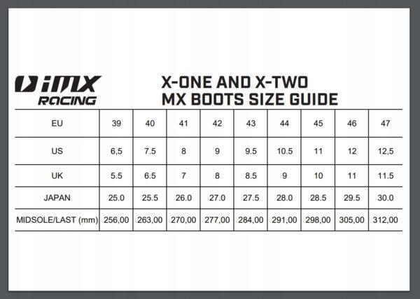 Buty na CROSS orange Quad IMX X-TWO 46