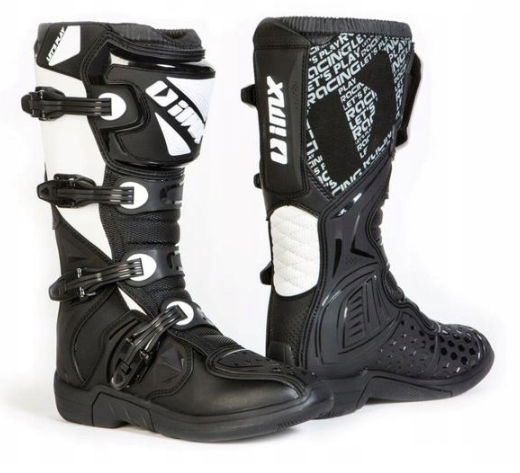 Buty na CROSS Blk/Wh Quad IMX X-TWO 47 + SMAR