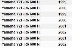 Filtr POWIETRZA Hiflo HFA4610 Yamaha R6 YZF 600