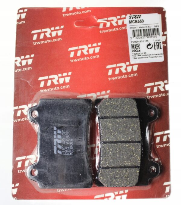 Klocki hamulcowe TRW MCB559 XVZ 1300 ROYAL STAR