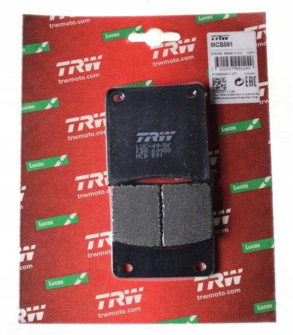 Klocki hamulcowe TRW MCB591 SUZUKI GSX 600F VX 800