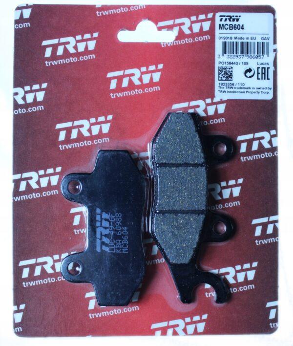 Klocki hamulcowe TRW MCB604 SPEED TRIPLE DAYTONA