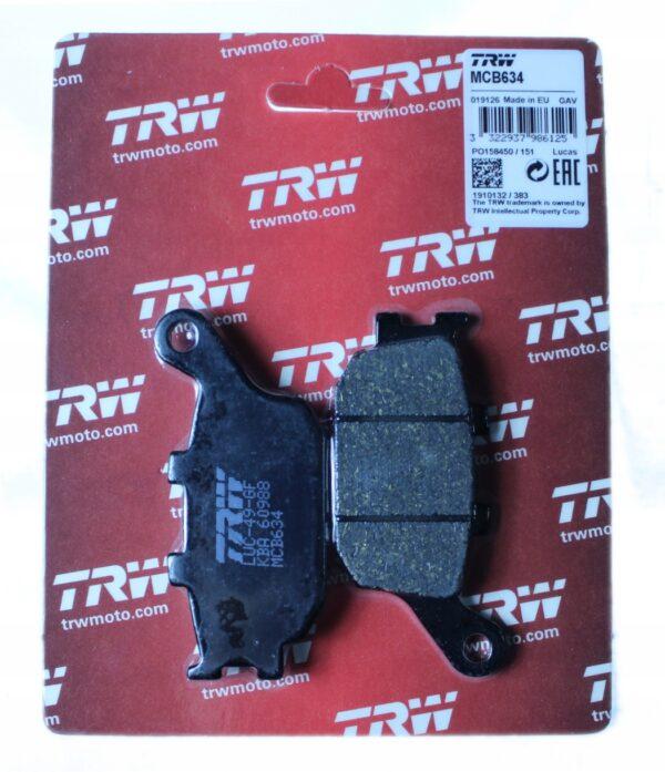 Klocki hamulcowe TRW MCB634 FIREBLADE VT VULCAN