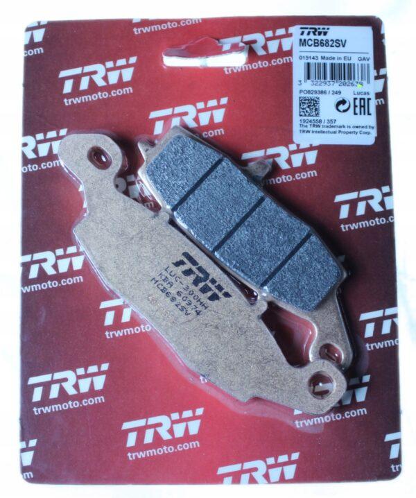 Klocki hamulcowe TRW MCB682SV ZRX ER-6 ZR7 VN XTA