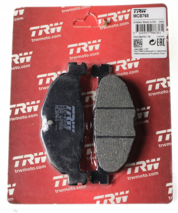 Klocki hamulcowe TRW MCB768 BETA 80 Evo 09-