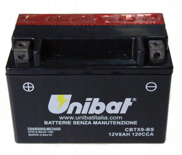 Akumulator UNIBAT CBTX9-BS NT NTV VT ZXR YP GSF