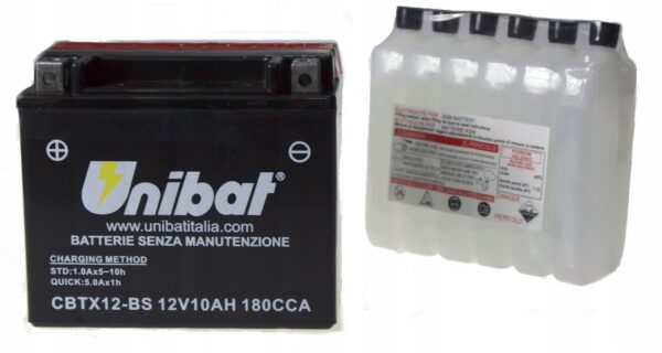 Akumulator UNIBAT CBTX12-BS TRX VF VFR VN SV TDM