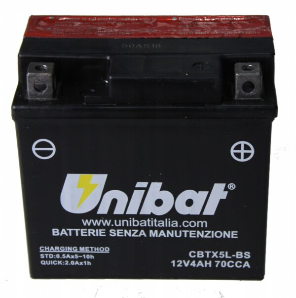 Akumulator UNIBAT CBTX5L-BS CRF XR EXC KYMCO REX