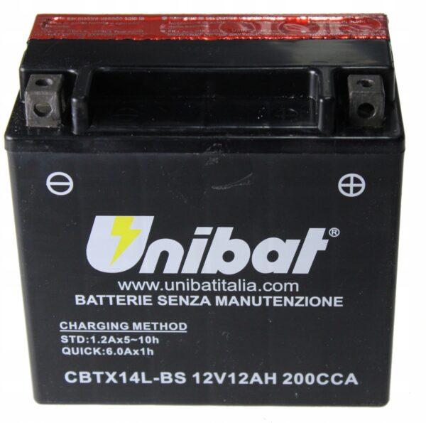 Akumulator UNIBAT CBTX14L-BS Harley Davidson XL XR