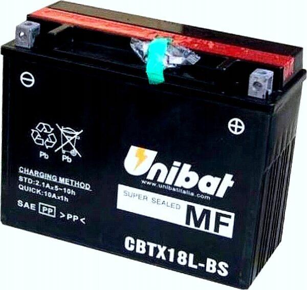Akumulator UNIBAT CBTX18L-BS 21 Ah CB750 XV 920 VN