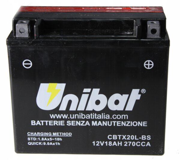 Akumulator UNIBAT CBTX20L-BS Harley FLSTN INDIAN