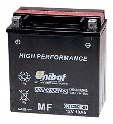 Akumulator UNIBAT CBTX20CH-BS VARADERO VN VLR VZR