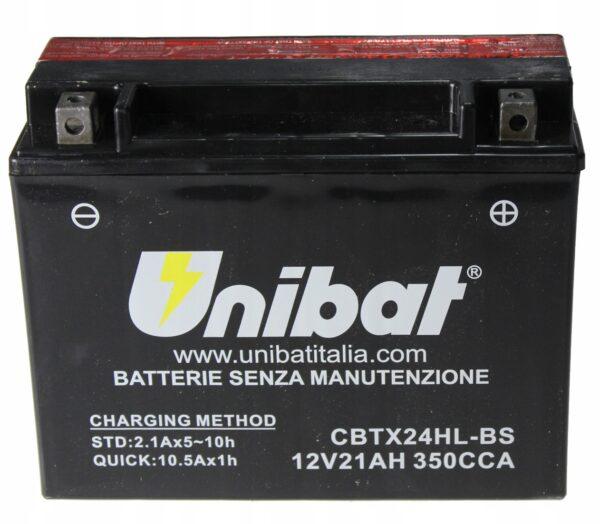 Akumulator UNIBAT CBTX24HL-BS RSS STS CBX FLTC